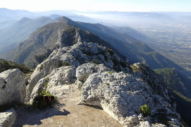 Benicadell mountain range - The Albaida Valley - Valencia (Spain)