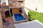 Pool Area - El Xop Country House - El Palomar, Valencia (Spain)